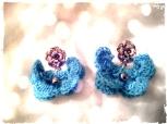 Earrings Çao Blue - La Roqua